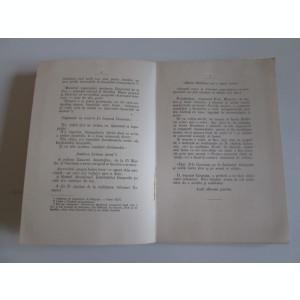 Rara! Harta Romaniei in Parlament(fara coperta fata/cu erata an) Bucuresci 1896
