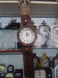 Ceas perete lemn