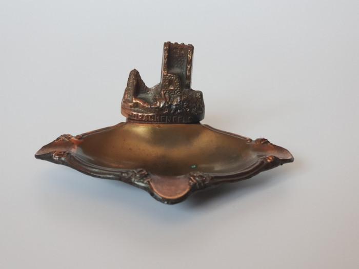 Scrumiera Drachenfels de bronz