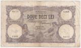 ROMANIA 20 LEI MARTIE 1920 F