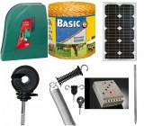 set gard electric 1.000 M – panou solar 20 W