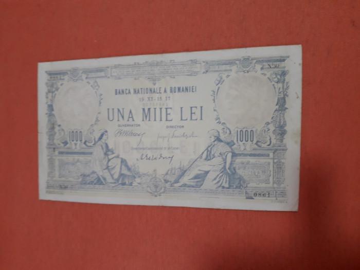 Bancnote românești 1000lei 1917 frumoasa