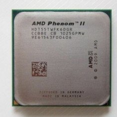 Procesor AMD 6 Hexa Core socket Am3 AM3+ Phenom IIX6 ( II x 6 ) 1055T + pasta, AMD Quad