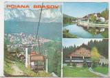 bnk cp Poiana Brasov - Vedere - necirculata - marca fixa