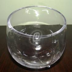 Bol sticla decor