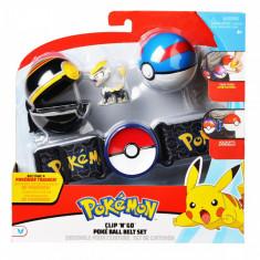 Set curea cu figurina in bile - Pokemon S2 (95282)