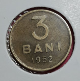 A5685 3 bani 1952 aUNC