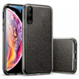 Husa Huawei P30 Lite 2019 Sclipici Carcasa Spate Negru Silicon TPU, Oem