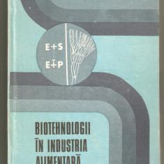 C.Banu-Biotehnologii in industria alimentara