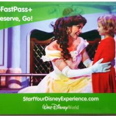 Pentru colectionari card plastic intrare Disney World Orlando Florida