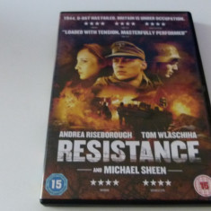 resistence - dvd