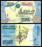 = MADAGASCAR – 20 000 ARIARY – 2017 - UNC  =