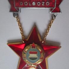Insigna fruntas in munca Ungaria anii 70, Romania de la 1950