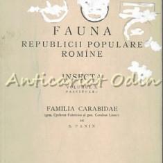 Fauna R. P. R. Insecta (IV). Coleoptera, Fam. Carabidae - S. Panin