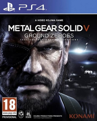 Metal Gear Solid V Ground Zeroes PS4 foto