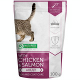 Natures Protection Cat Skin And Coat Chicken Salmon 100 G
