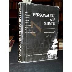 PERSONALITATI ALE STIINTEI (MIC DICTIONAR) - GHEORGHE BRATESCU, VICTOR BREAHNA, PERSONALITATI ALE STIINTEI (MIC DICTIONAR)