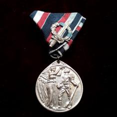Decoratie germana WW1 Legiunea de onoare, medalie veche originala cu panglica