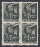 ROMANIA 1945 ARDEALUL DE NORD ORADEA I 1P/1F BL 4  MNH AUTENTIFICARE BODOR
