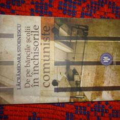 De pe bancile scolii in inchisorile comuniste - Lacramioara Stoenescu 271pagini