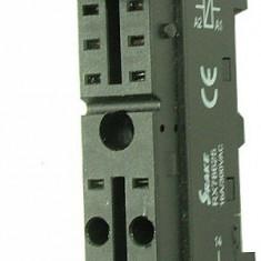 Soclu releu P2RF-08, G2R-2-S, 8 pini, fixare pe sina DIN - 126957