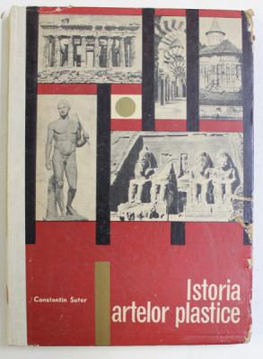 ISTORIA ARTELOR PLASTICE- CONSTANTIN SUTER, BUC.1967 *COPERTA UZATA foto
