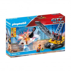 Playmobil City Action - Excavator de demolare