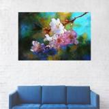 Tablou Canvas, Flori de cires - 80 x 120 cm