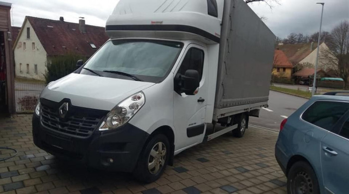 Renault Master Prelata