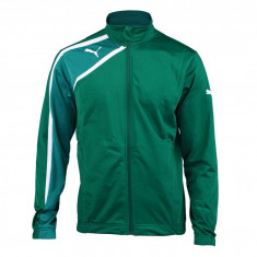 Jacheta barbati Puma Spirit Poly Jacket power green-team green-white 65358549, L, M