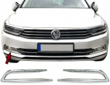 Set Ornamente cromate pentru proiectoare VW PASSAT 3G B8 2015->