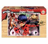 Cumpara ieftin Puzzle Miraculous Ladybug, 100 piese, Educa