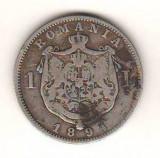 SV * Romania 1 LEU 1894 * ARGINT .835 * Regele Carol I