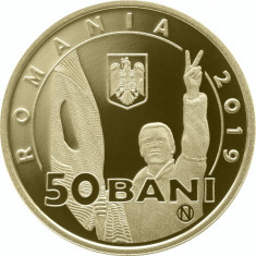 Moneda Romania 50 Bani 2019 - Proof ( 30 ani de la Revolutia Romana din 1989 )
