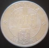 Moneda 1000 LEI - ROMANIA, anul 2001    *cod 3130 - ALUMINIU