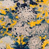 Set 3 role Tapet Imprimat Digital Chrysanthemums Yellow