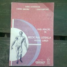 GHID PRACTIC DE MEDICINA LEGALA PENTRU JURISTI - VASILE ASTARASTOAE