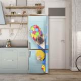 Sticker Tapet Autoadeziv pentru frigider, 210 x 90 cm, KM-FRIDGE-36