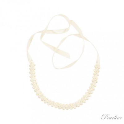 Accesoriu par – Bentita din perle foto