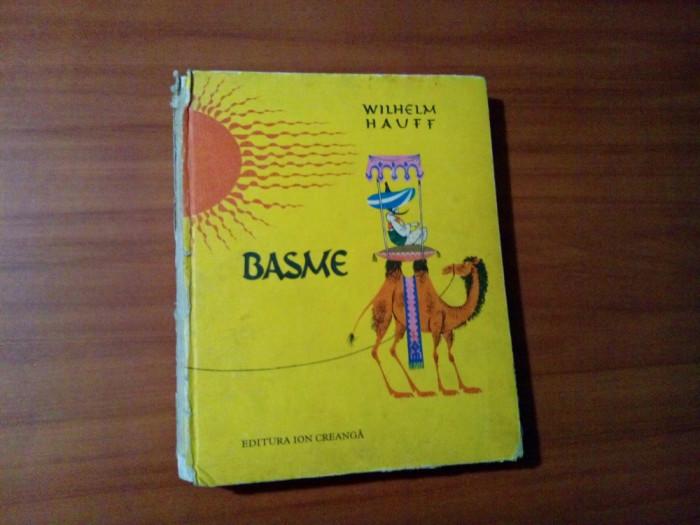 WILHELM HAUFF -  Basme -  LIVIA RUSZ (ilustratii, coperta) - 1981, 367 p.