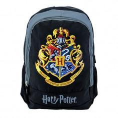 Ghiozdan Harry Potter Hogwarts, pentru baieti, gimnaziu, ergonomic, Pigna