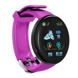 Cumpara ieftin Bratara Fitness Smartband Techstar® D18 Waterproof IP65, Incarcare USB, Bluetooth 4.0, Display Touch Color OLED, Mov