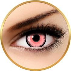 Fantaisie Lunatic Pink - lentile de contact pentru Halloween anuale - 365 purtari (2 lentile/cutie)