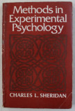 METHODS IN EXPERIMENTAL PSYCHOLOGY by CHARLES L . SHERIDAN , 1979