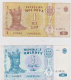 LOT LEI MOLDOVA 1995 (1,5 LEI )VF