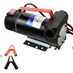 Pompa eletrice pentru transfer combustibil Geko, 12V, 155 W, 40L/min