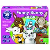 Joc educativ Iepurasul Amuzant - Funny Bunny Lotto, orchard toys