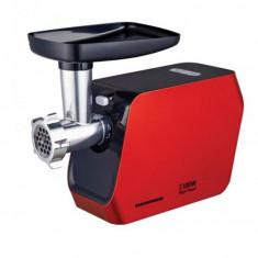 Masina de tocat MG-2100RD, 2100W, Accesoriu rosii, Accesoriu carnati, Cutit inox, Rosu
