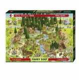 Cumpara ieftin Puzzle Heye Black Forest Habitat, 1000 piese