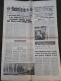 Ziarul Scanteia 8 septembrie 1989